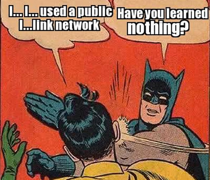 Batman-Robin-Link-Network