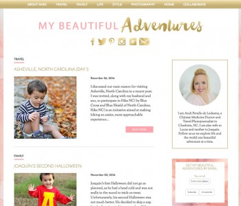 Blogger Outreach My Beautiful Adventures