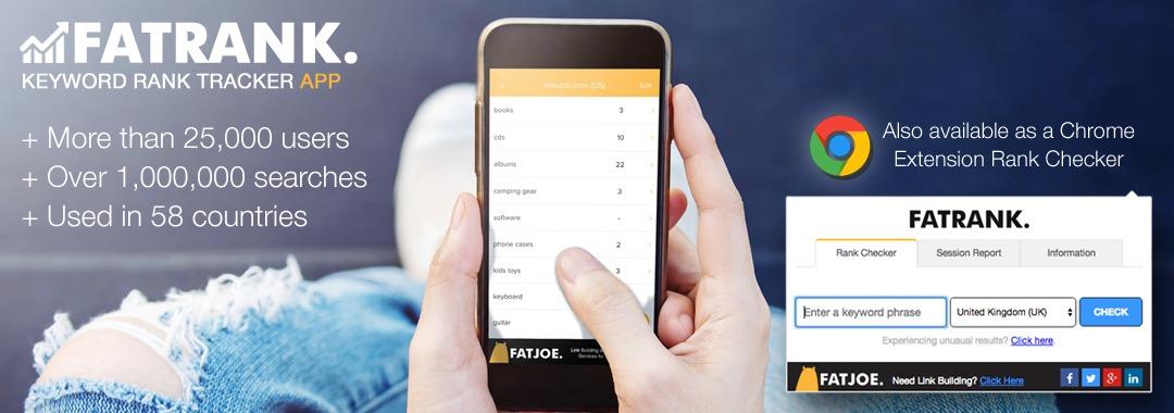 FATRANK-Keyword-Rank-Tracker-App