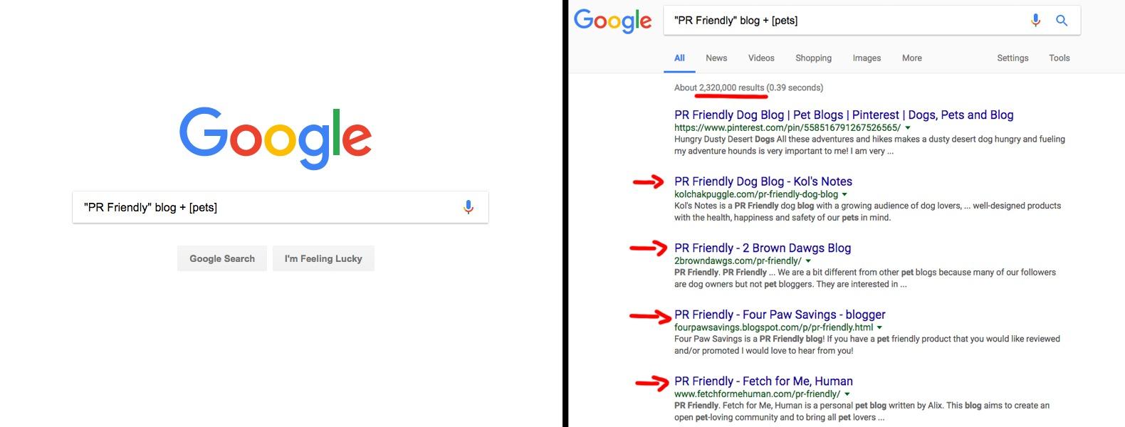 Google Blogging Opportunities