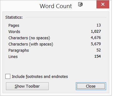 Refreshing Old Content - Check Word Count